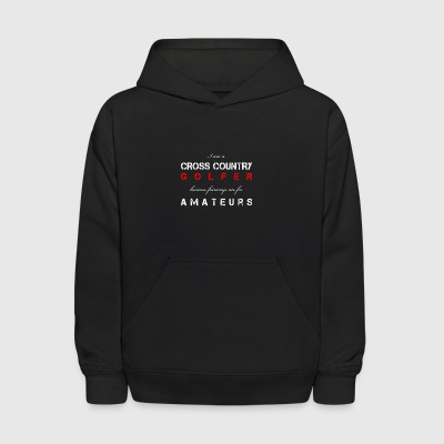 cross country golfer - Kids' Hoodie