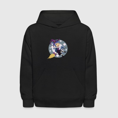 Happy Halloween Witch Shirt - Kids' Hoodie