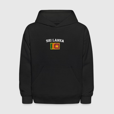 SRI Lanka Flag Shirt - Vintage SRI Lanka T-Shirt - Kids' Hoodie
