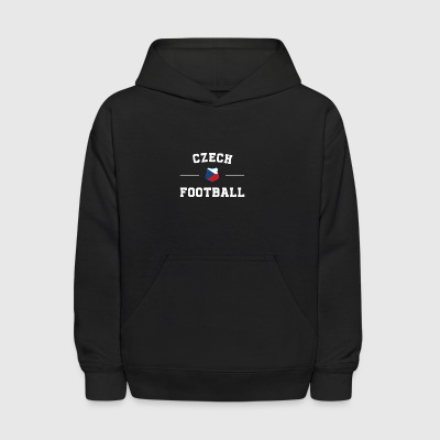 Czech Republic Football Shirt - Czech Republic Soc - Kids' Hoodie
