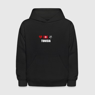 Tunisia Football Shirt - Tunisia Soccer Jersey - Kids' Hoodie