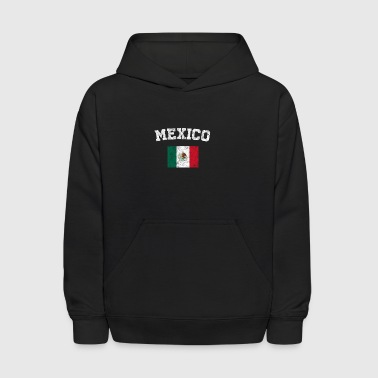 Mexican Flag Shirt - Vintage Mexico T-Shirt - Kids' Hoodie