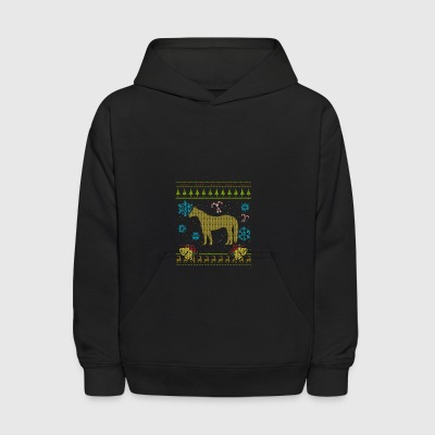 Ugly Christmas Sweaters Shirt Quarter Horse Shirt - Kids' Hoodie
