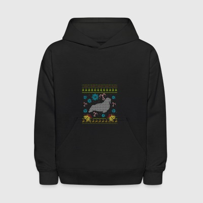 Walrus Christmas Ugly Sweater Design Shirt - Kids' Hoodie