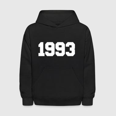 PLACE AND TIME - 1993 - Kids' Hoodie
