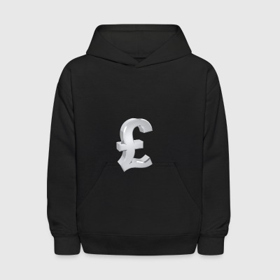 Currency, pound - Kids' Hoodie
