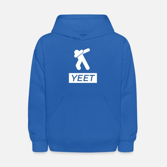 Best Hoodies & Sweatshirts - Yeet Dab - Kids' Hoodie royal blue