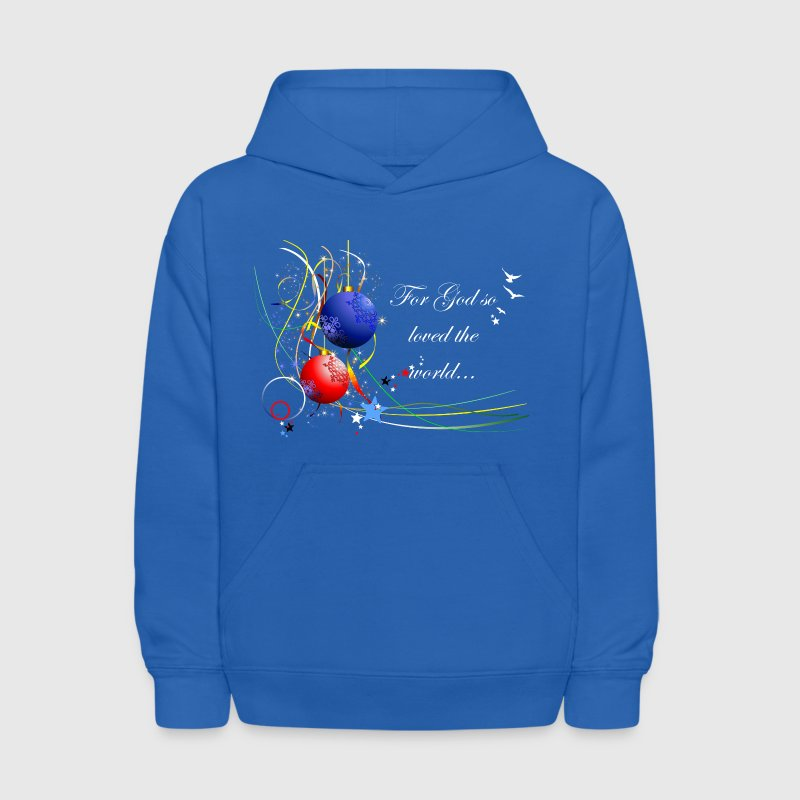 For God so Loved the World - Kids' Hoodie