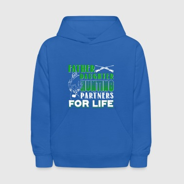 Father And Daughter Hunting Partners Shirt - Kids' Hoodie