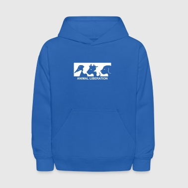 Animal Liberation - Kids' Hoodie