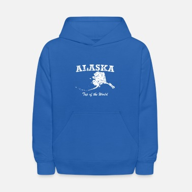 Alaska Alaska On Top Of The World - Kids' Hoodie