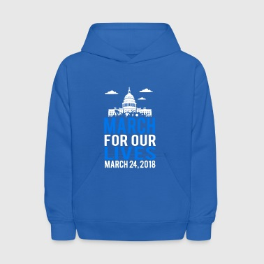 March For Our Lives 2018 - Kids' Hoodie