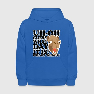 Camel Hump Day, Guess What Day It Is?!? - Kids' Hoodie