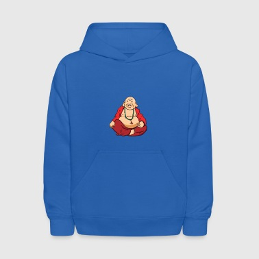 Happy Buddha Cartoon - Kids' Hoodie