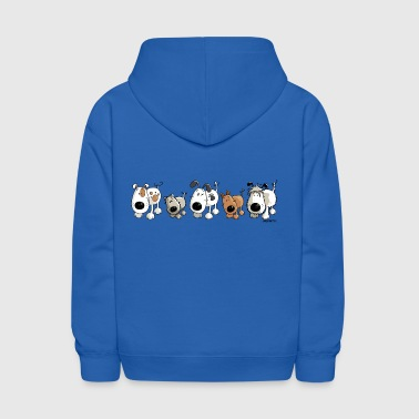 Funny Dogs - Dog - Doggy - Kids' Hoodie