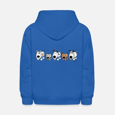 Herding Dog Funny Dogs - Dog - Doggy - Kids' Hoodie