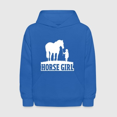 Equestrian Women Girls Love Their Horses Gift - Kids' Hoodie