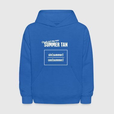 Summer Tan - Funny Statistics Teacher - Kids' Hoodie