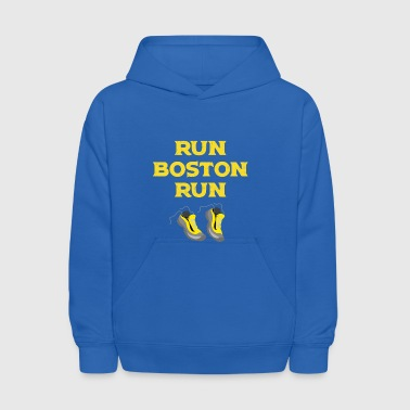 Run Boston Run Running Marathon - Kids' Hoodie