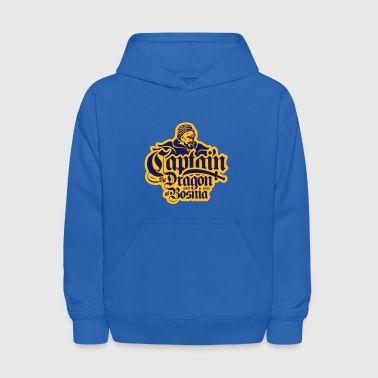 Captain The Dragon Of Bosnia - Kids' Hoodie