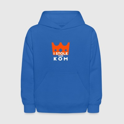 I Stole your KOM. Cyclist. Funny. Cycle - Kids' Hoodie