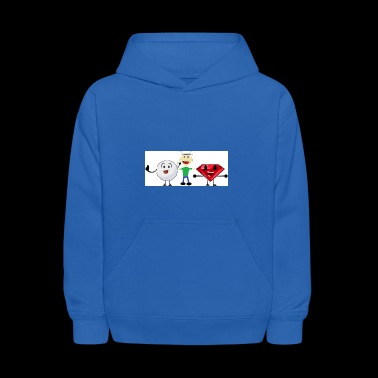 Snowball, me, and Ruby (I am a fan of BFDI!) - Kids' Hoodie