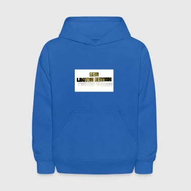 Limited Edition Shirt - Kids' Hoodie