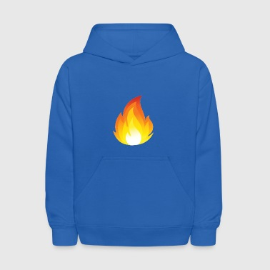 Flames Merch a For youtube - Kids' Hoodie