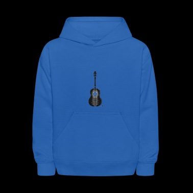 Shawn Mendes guitar tattoo - Kids' Hoodie