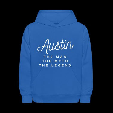 Austin the man the myth the legend - Kids' Hoodie