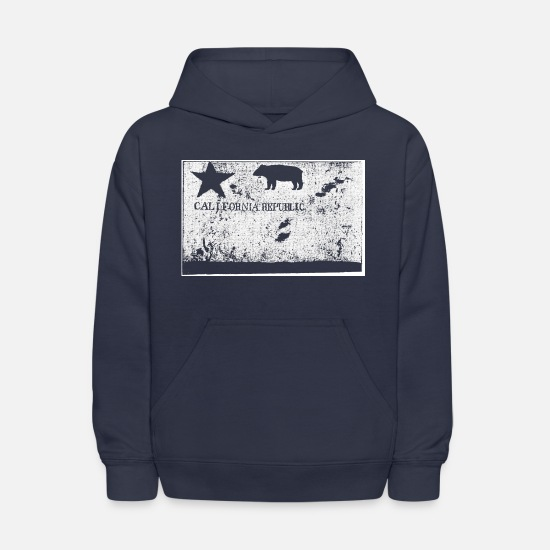 Retro Hoodies & Sweatshirts - California Republic - Kids' Hoodie navy