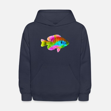 Colorful Colorful Fish - Kids' Hoodie