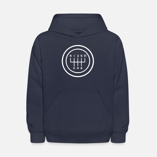 Car Hoodies & Sweatshirts - Cool Race Car - Kids' Hoodie navy