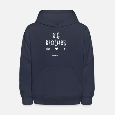 Pregnancy Big Brother Outfit for Pregnancy Announcement - Kids' Hoodie