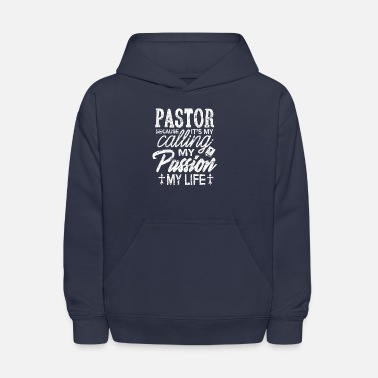 Pastor Shirt Because It's My Calling Christians - Kids' Hoodie