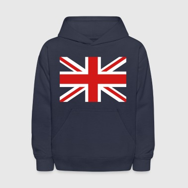 Union Jack central cross - Kids' Hoodie