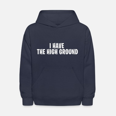 Fortnite I have the high ground - Fortnite Battle Royale - Kids' Hoodie