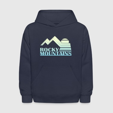 Rocky Mountains Rocky Mountains Vintage Tee - Kids' Hoodie