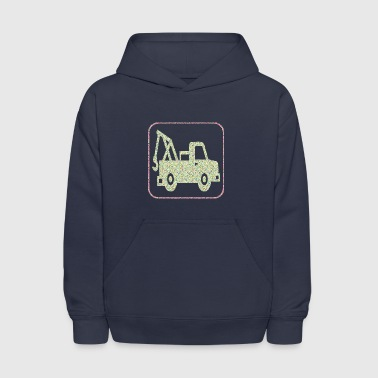 A TOW TRUCK - Kids' Hoodie