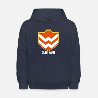 Clash Of Clans Clash With Your Clan-02 - Kids' Hoodie