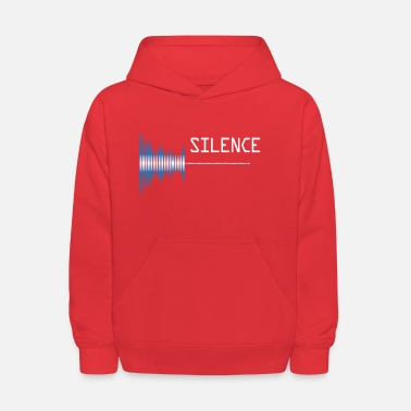 Sounds Sound silence Sound pollution - Kids' Hoodie