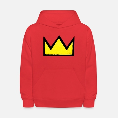 the king - Kids' Hoodie