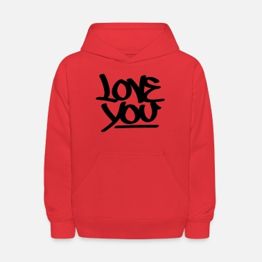 Love You Love You - Kids' Hoodie