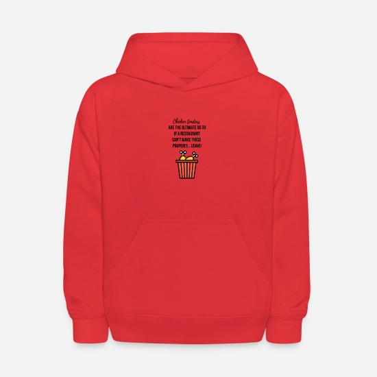 Kfc Hoodies & Sweatshirts - Chicken tenders - Kids' Hoodie red
