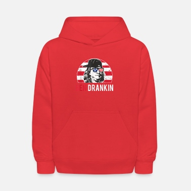 Bengalo Ben Drankin 4th of July Ben Drankin 4th of July - Kids' Hoodie
