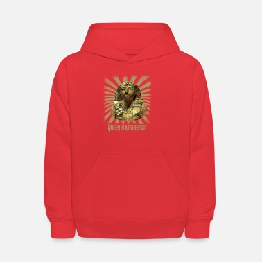 Ancient Queen Hatshepsut from Old Pharaonic Egypt - Kids' Hoodie