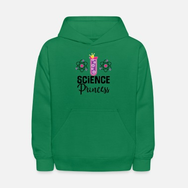 Princess Science Princess Girls Scientist - Kids' Hoodie