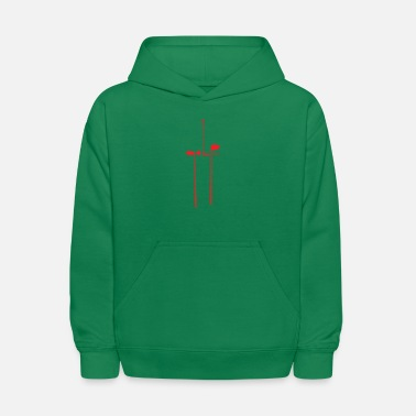 Golf In Clubs - Kids' Hoodie