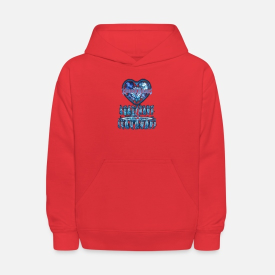Kingdom Hoodies & Sweatshirts - Kingdom Hearts - Kids' Hoodie red