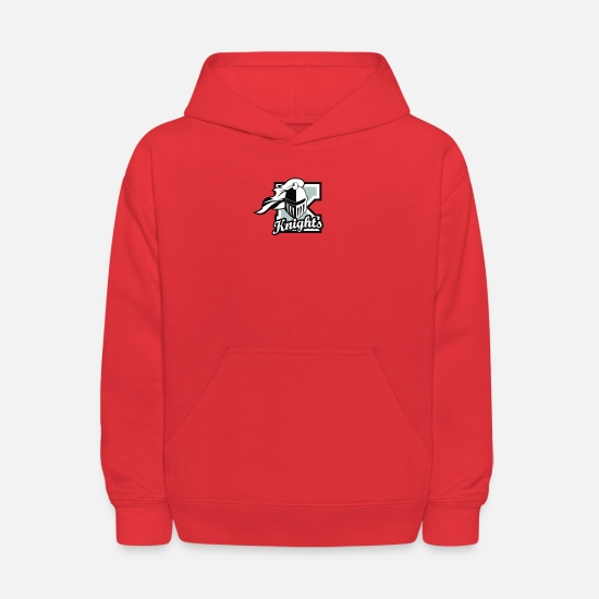 Knight Hoodies & Sweatshirts - Knights templar logo 05 - Kids' Hoodie red